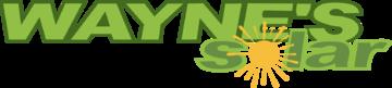 Wayne's Solar Logo