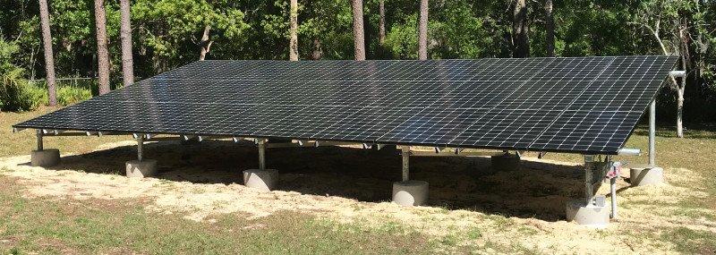 Ground Mounted Solar Daytona Beach FL