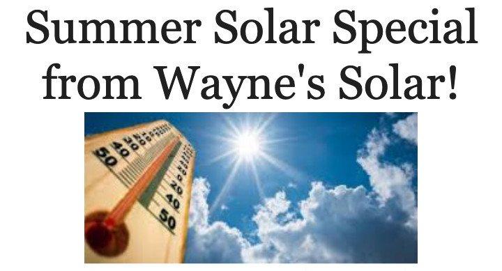 Summer Solar Special