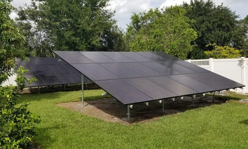Ground Mounted Solar Flagler County