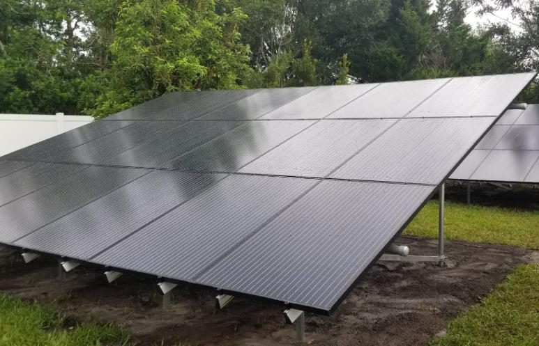 Ground Mounted Solar Panels Jacksonville