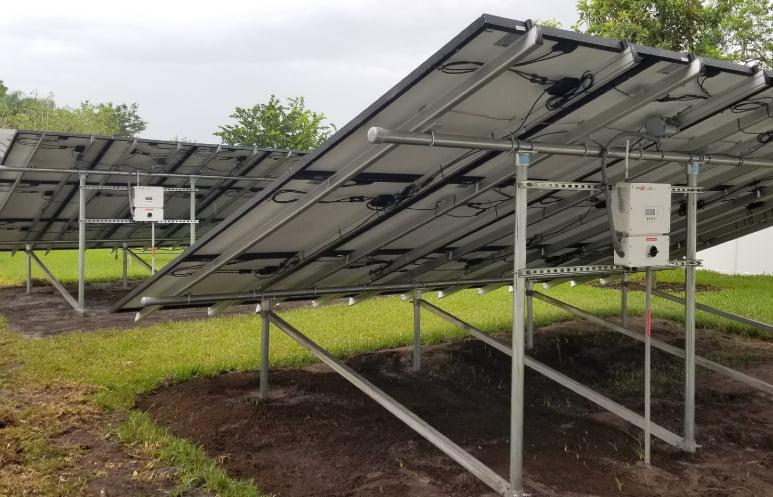 Ground Mounted Solar Panels DeLand