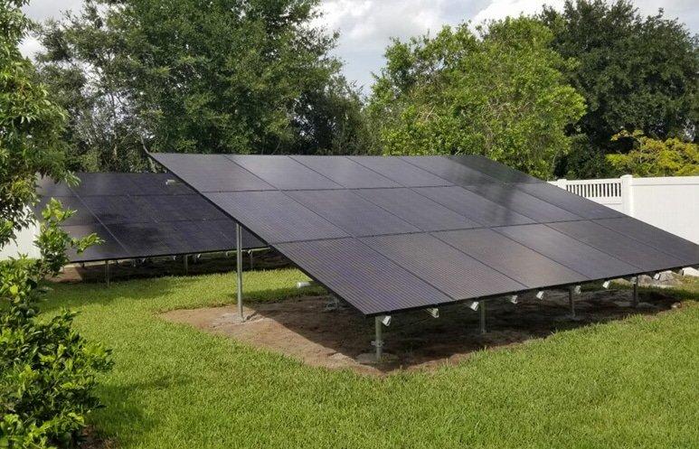 Ground Mounted Solar Panels New Smyrna Beach