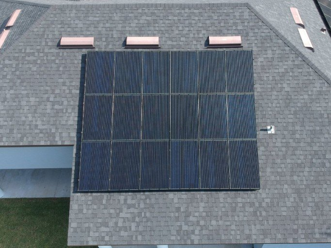 Crescent City Solar Panel