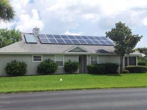 Installing Solar Panels on Roof Jacksonville