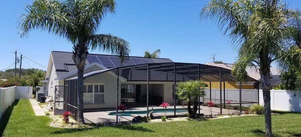 Ormond Beach Solar Swimming Pool