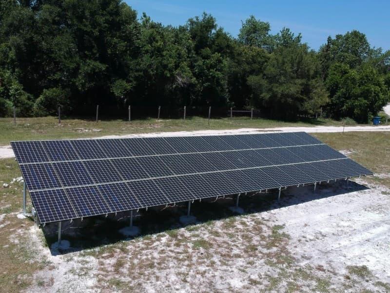 Solar Installation Osteen