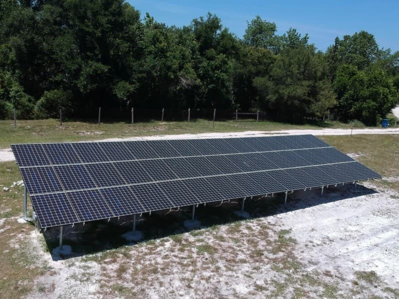Solar Installation Sawgrass