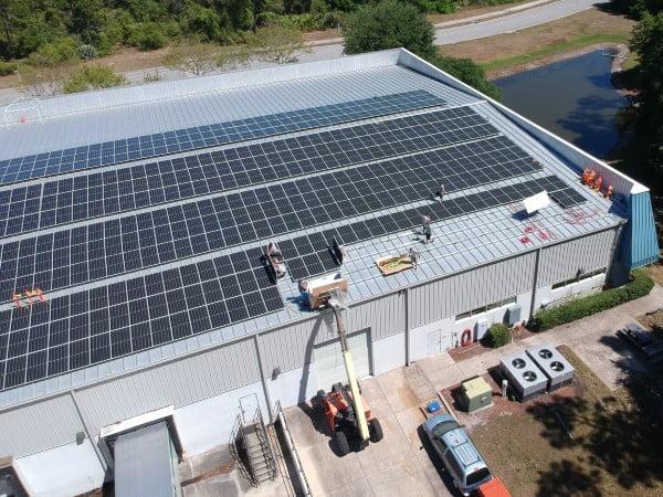 commercial solar pv jacksonville fl